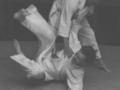 Len Stromer throwing Stuart Adams circa 1970