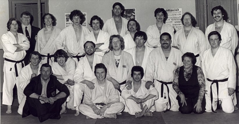 Taken Circa 1970, People that Steve Billett trained with when quite young, MArtin Clarke, Nobby Clarke, Margaret  Clarke, Stafford Mountford, Paul Hinton, Author Mapp, Mike Illot, sorry but the rest I can remember the name.